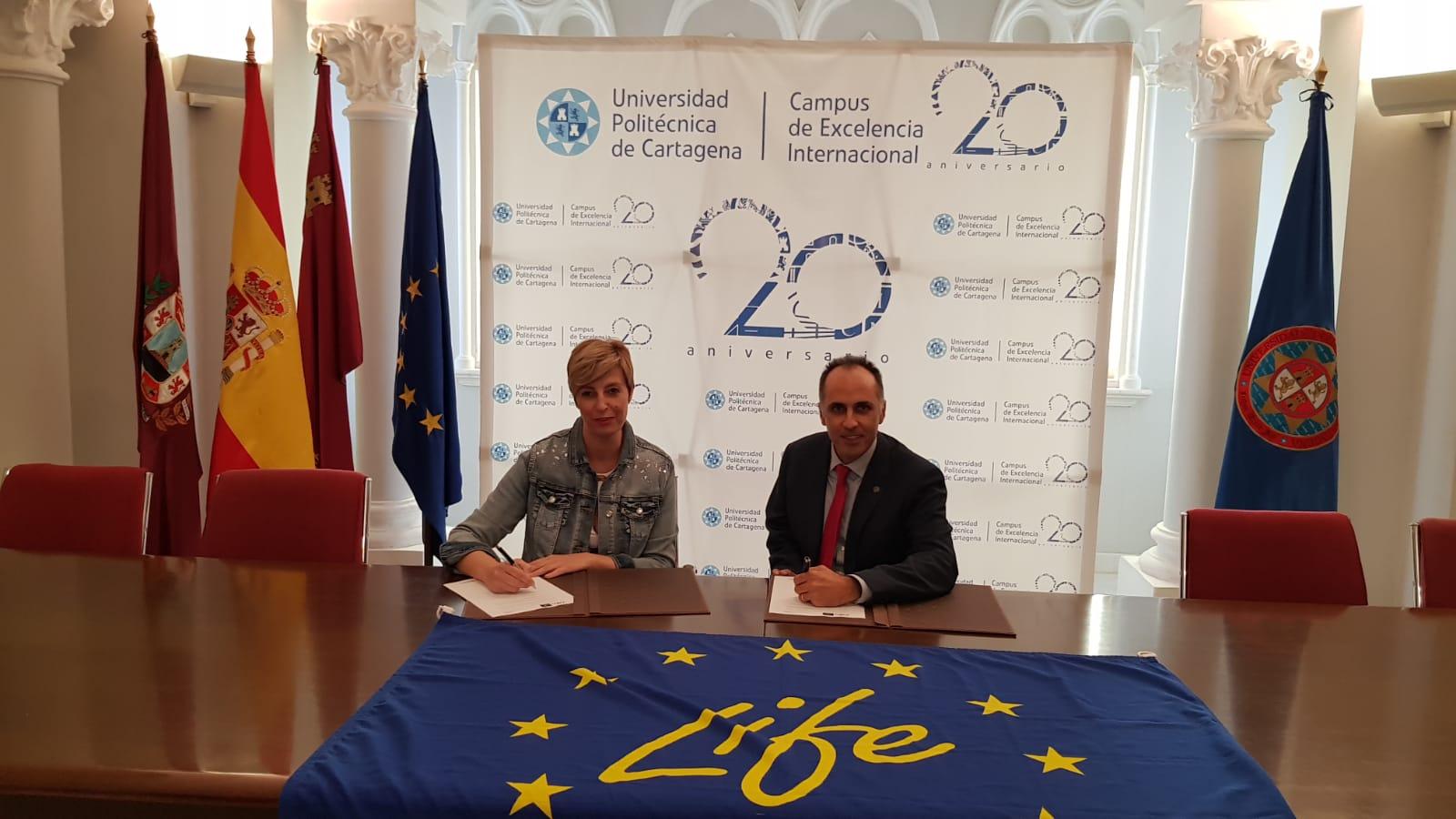 LA UNIVERSIDAD POLITÉCNICA DE CARTAGENA Y EL PROYECTO LIFE FOREST CO2 UNEN FUERZAS EN LA LUCHA FRENTE AL CAMBIO CLIMÁTICO