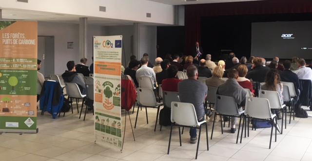 Propietarios forestales de Gironde participan en un seminario en Mios