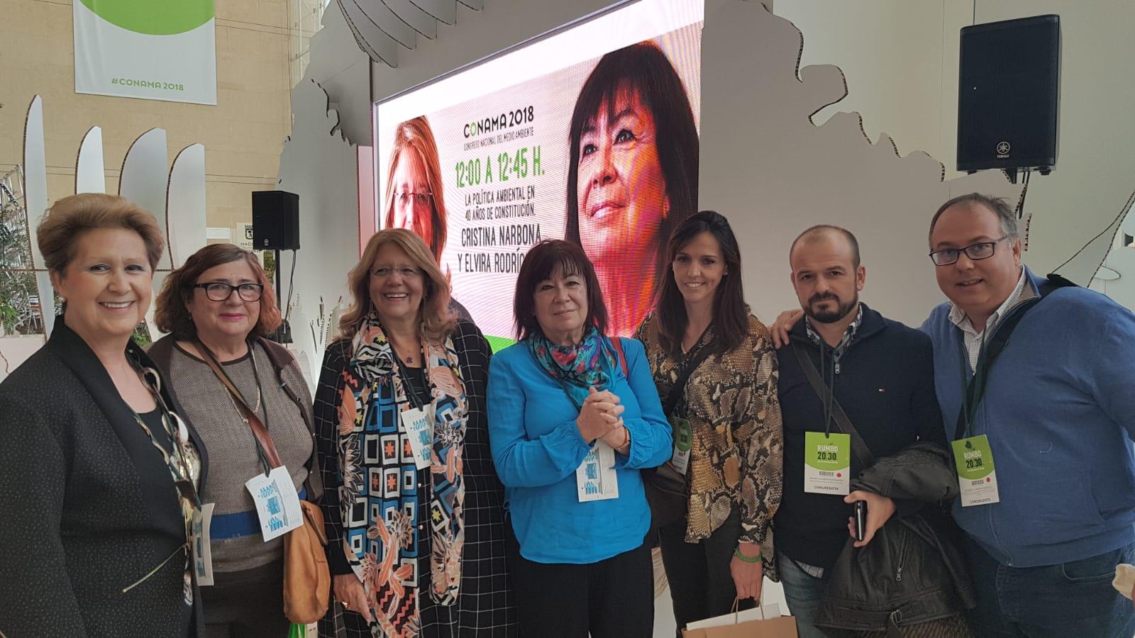 PARTICIPACIÓN DEL PROYECTO LIFE FOREST CO2 EN EL CONGRESO NACIONAL DE MEDIO AMBIENTE (CONAMA 2018)