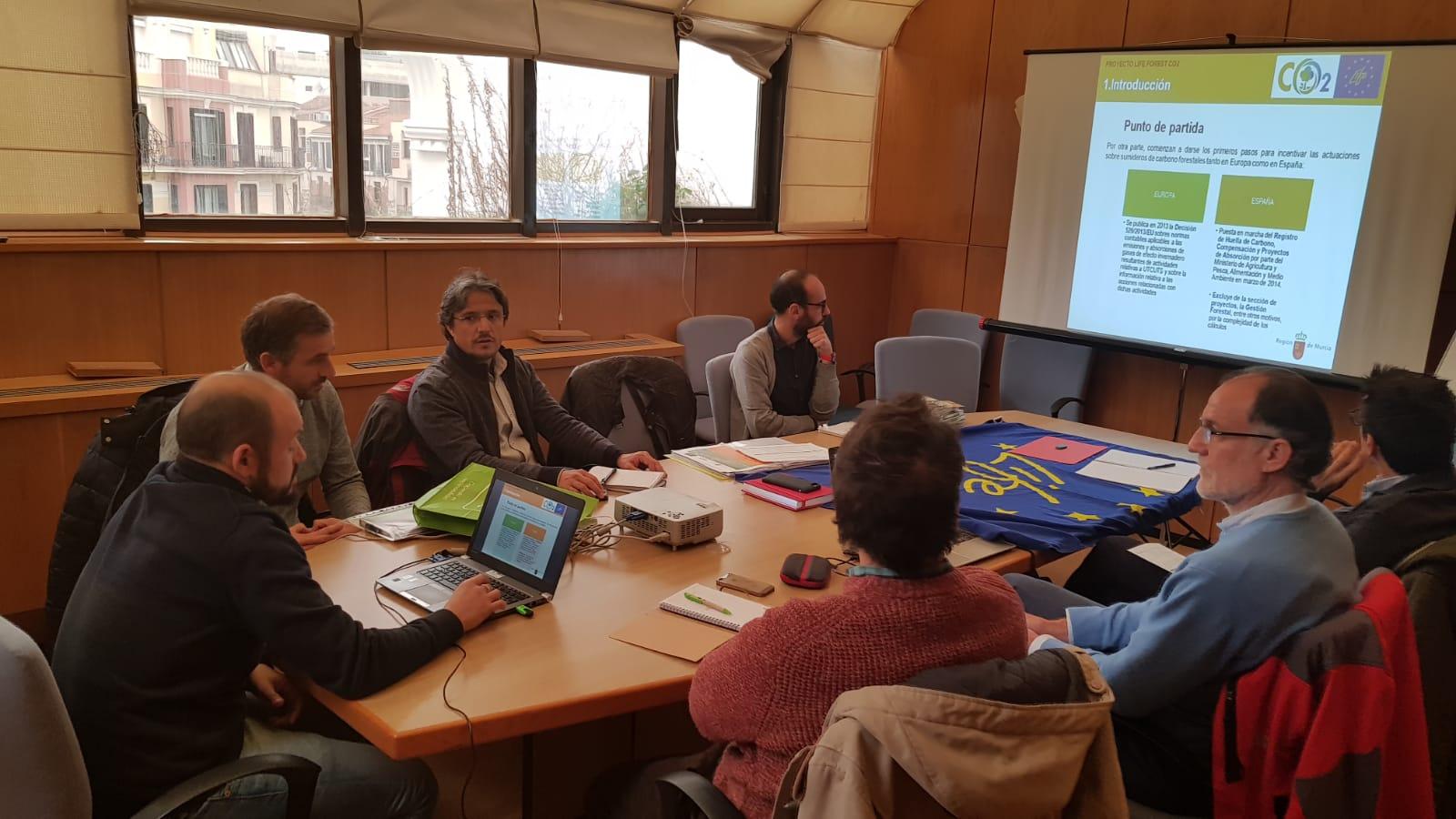 LA OFICINA ESPAÑOLA DE CAMBIO CLIMÁTICO CONOCE LOS RESULTADOS DEL PROYECTO LIFE FOREST CO2