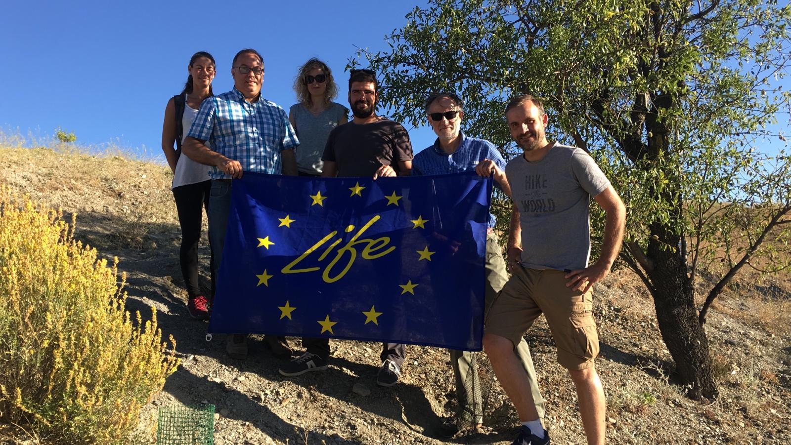 EL EQUIPO DEL PROYECTO LIFE FOREST CO2 PRESENTA SUS RESULTADOS A LA COMISIÓN EUROPEA