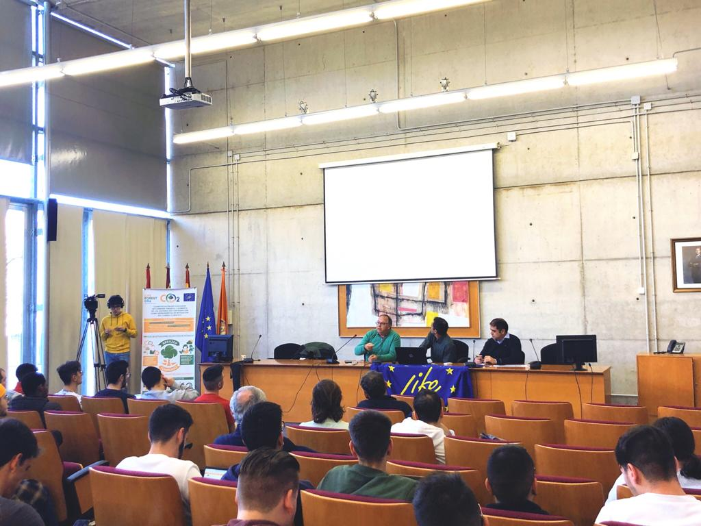 CONFERENCE IN THE FACULTY OF ECONOMY AND ENTERPRISE OF THE UNIVERSITY OF MURCIA ON CARBON EMISSION COMPENSATION SYSTEMS AND CO2 MARKETS