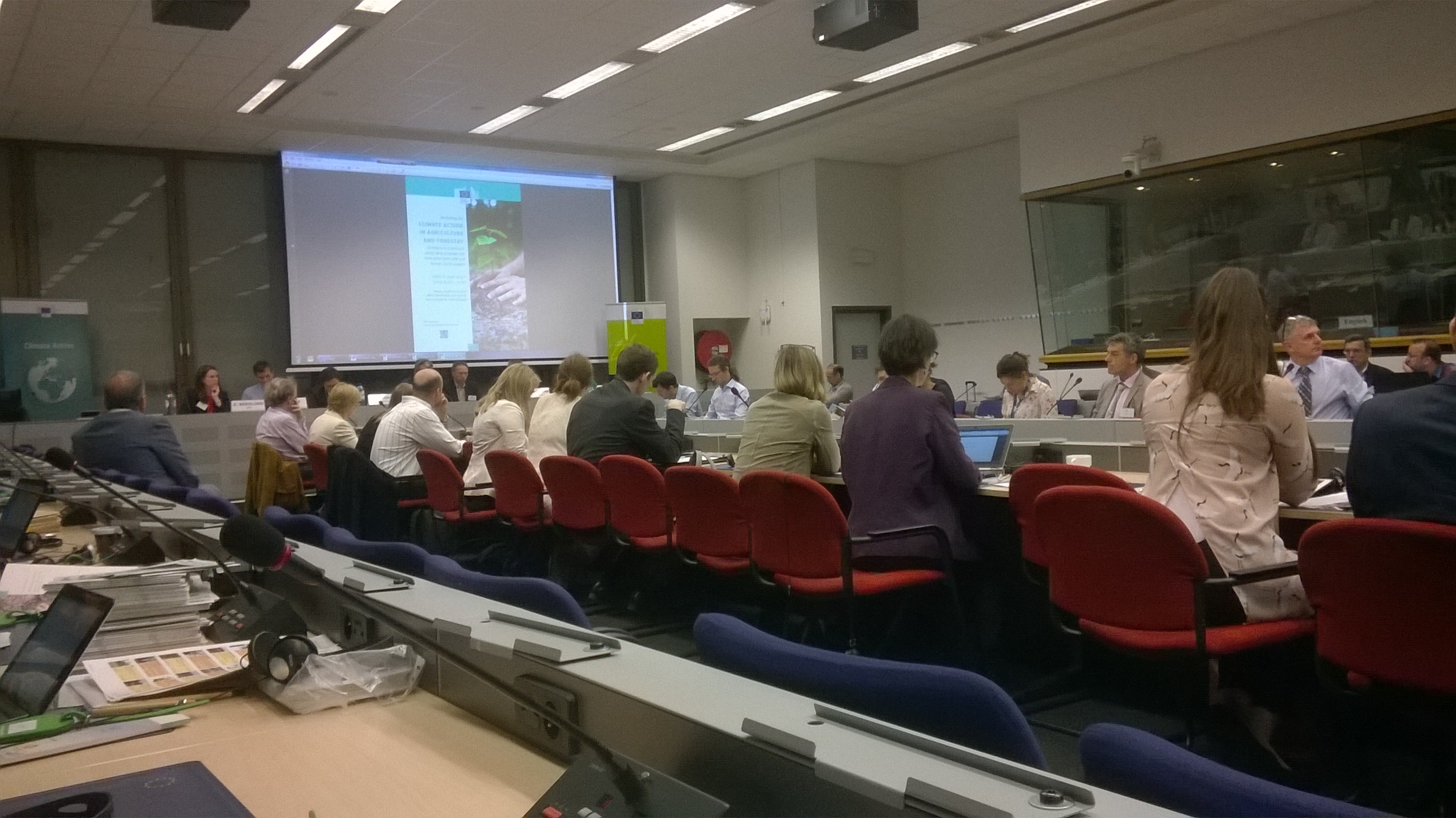 PARTICIPATION OF LIFE FOREST CO2 PROJECT AT THE WORKSHOP ON CLIMATE ACTION IN AGRICULTURE AND FORESTRY, BRUSSELS