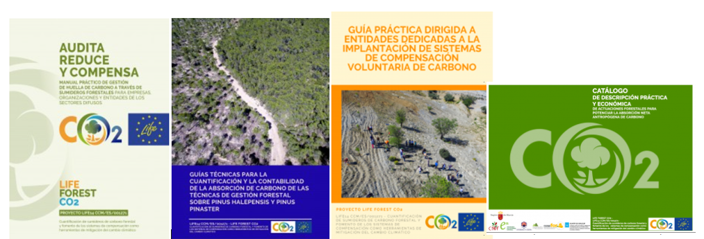 YA DISPONIBLE AL COMPLETO LA COLECCIÓN DE PUBLICACIONES TÉCNICAS DEL PROYECTO LIFE FOREST CO2
