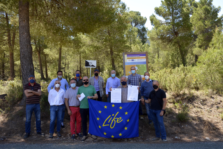 LAS PRINCIPALES ASOCIACIONES FORESTALES DE ESPAÑA Y LA REGIÓN DE MURCIA SE ALINEAN CON EL PROYECTO LIFE FOREST CO2